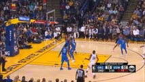 Russell Westbrook Watches Kevin Durant and Paul George Amazing Duel! Warriors vs Thunder