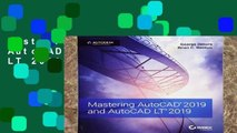 Best product  Mastering AutoCAD 2019 and AutoCAD LT 2019