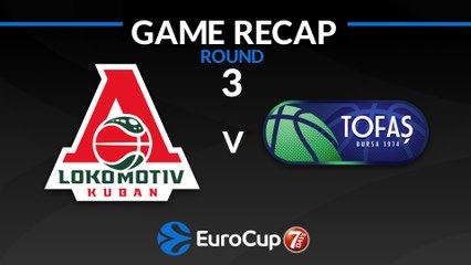 7Days EuroCup Highlights Regular Season, Round 3: Lokomotiv 95-72 Tofas