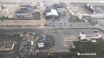 US Air Force personnel return after Hurricane Michael destroys base