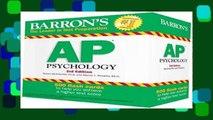Popular Ap Psychology Flash Cards