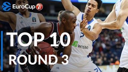 7DAYS EuroCup Regular Season Round 3 Top 10 Plays