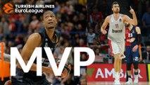 Turkish Airlines EuroLeague Regular Season Round 2 co-MVPs: Nikola Milutinov & Anthony Randolph