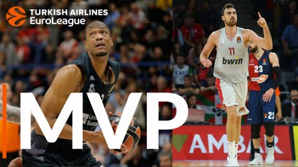 Turkish Airlines EuroLeague Regular Season Round 2 co-MVPs: Nikola Milutinov & Anthony Randolph