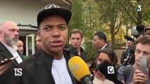 Kylian Mbappe dans sa ville natale, Bondy