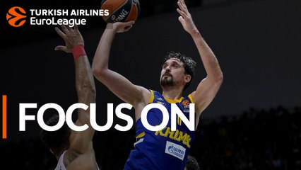 Focus on: Alexey Shved and Charles Jenkins, Khimki Moscow region