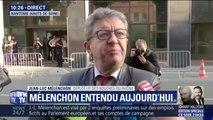 """Entendu ce matin Mélenchon  maintient """"la France Insoumise n'est pas traitée comme tout le monde"""""""