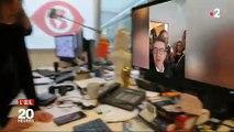 """EN DIRECT - Melenchon : Jean-Luc Mélenchon est arrivé à Nanterre pour être entendu - """"Il y a une justice à deux vitesses"""""""