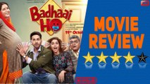 'Badhaai Ho' Movie Review | Ayushmann Khurrana, Sanya Malhotra |