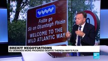 Brexit talks: how would a hard Irish border affect residents?