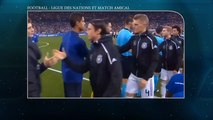Football ligue des nations et match amical
