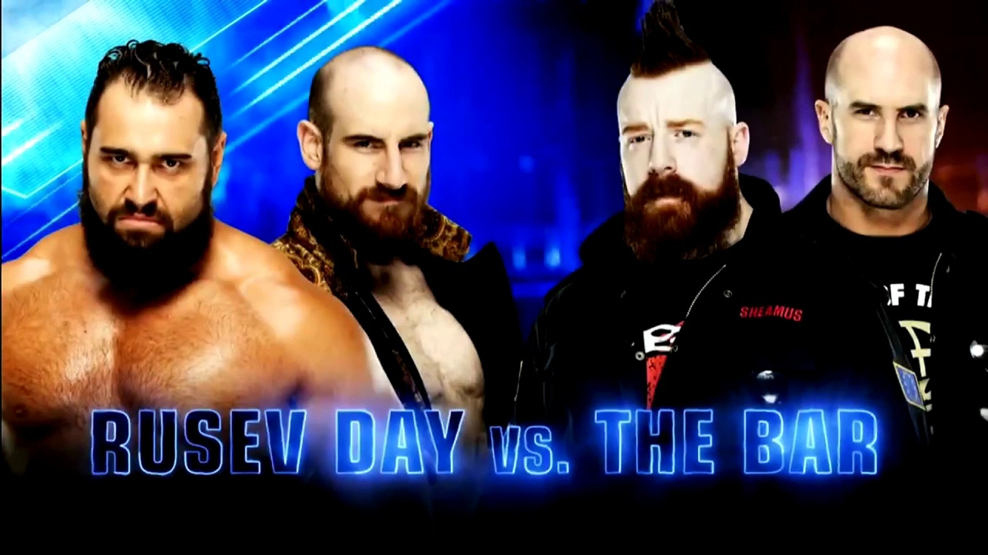 WWE SmackDown LIVE: The Bar vs. Rusev Day - Ganadores enfrentan a The New Day en Hell in a Cell   Es