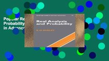 PDF] Real Analysis and Probability (Cambridge Studies in Advanced