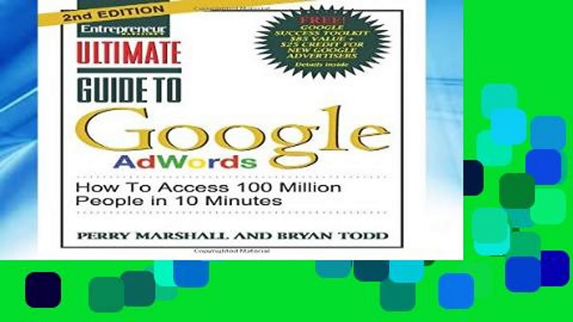 F.R.E.E [D.O.W.N.L.O.A.D] Ultimate Guide to Google Ad Words: How To Access 100 Million People in