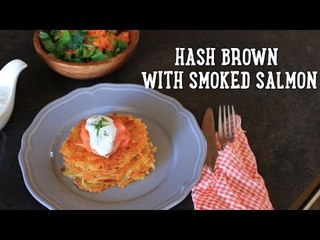 Potato Latkes With Smoked Salmon [BA Recipes]