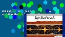 F.R.E.E [D.O.W.N.L.O.A.D] Data Structures and Algorithms in Java [E.B.O.O.K]