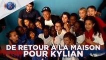 Kylian Mbappé à Bondy !