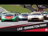 British GT - Donington 2017 - Full Show - LIVE