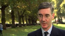 Rees-Mogg critical of government Brexit negotiating
