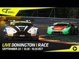 LIVE - Main Race - 2018 Season Final - Donington - British GT 2018