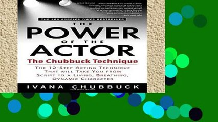 The Power Of The Actor By Ivana Chubbuck Download