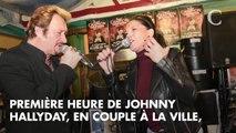 PHOTOS. Album posthume de Johnny Hallyday : l'incroyable attente des fans du rockeur devant la Fnac des Champs-Élysées