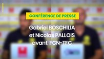 Boschilia et Pallois avant FC Nantes - Toulouse FC