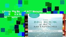 Library  Big Book of ACT Metaphors: A Practitioner s Guide to Experiential Exercises and Metaphors