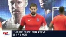 Handball : Nikola Karabatic opéré et forfait pour le Mondial avec les Bleus