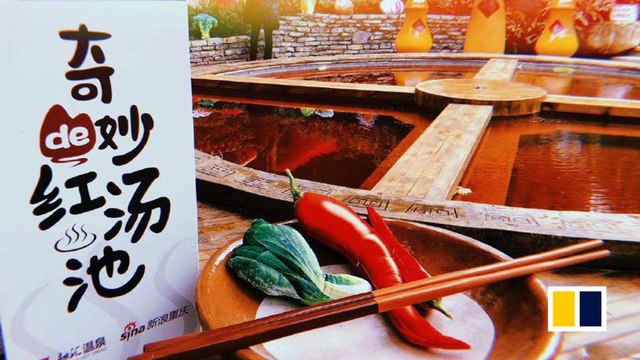 'Hotpot' hot spring opens in China