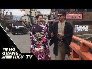 Bảo Anh và Hồ Quang Hiếu tình tứ tay trong tay ở Nhật Bản
