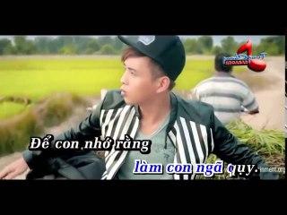 Nơi Ấy Con Tìm Về - Hồ Quang Hiếu - Official Karaoke
