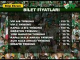 Bursaspor - Denizlispor Maçı Bilet Fiyatları (17.03.2010)