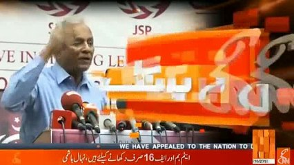 Pak Army didn't conquer a single inch of land while Quaid found whole Pakistan by political struggle - Nehal Hashmi