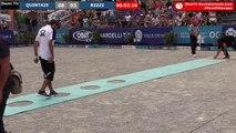 Europétanque des Alpes-Maritimes demi-finale du tir de précision : QUINTAIS vs RIZZI
