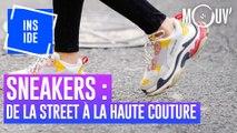 Sneakers : de la street aux défilés haute couture