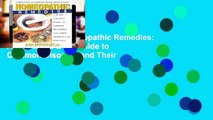 Best product  Homeopathic Remedies: A Quick and Easy Guide to Common Disoders and Their