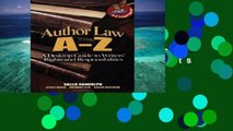 Best product  Author Law A to Z: A Desktop Guide to Writers  Rights and Responsibilities (Capital