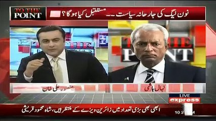 Are you Part of PML(N) ,, Nihal Hashmi Response