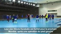 Nikola Karabatic forfait pour le Mondial