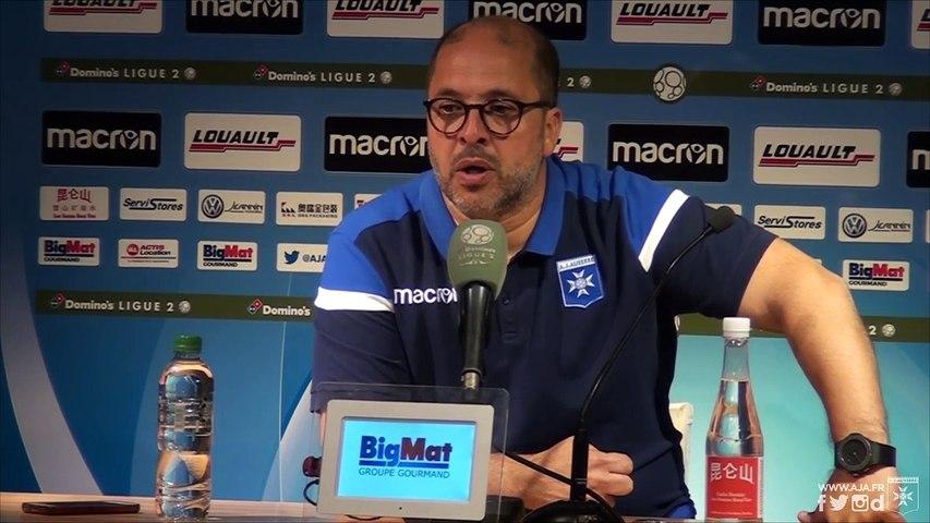Réactions de Pablo Correa et Yanis Merdji après AJA - Béziers (2-0)