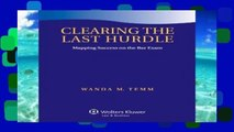 Review  Clearing the Last Hurdle: Mapping Success on the Bar Exam (Academic Success)