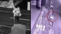 Security System Spots Rogue Egg Throwers & Spooky Haunted Nightclub Till