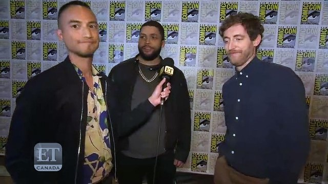 O' Jackson Jr. And Thomas Middleditch Talk '', tv series 2019 cinema comedy channel