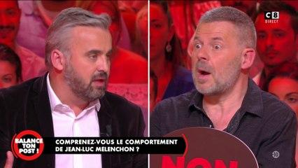 Le ton monte enrtre Éric Naulleau et Alexis Corbière (porte-parole de Mélenchon)