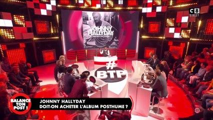 """""""Mon pays c'est l'amour"""" : Cyril Hanouna écoute l'album posthume de Johnny Hallyday"""