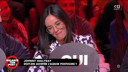 """Quand Agathe Auproux """"trouble"""" un fan de Johnny"""