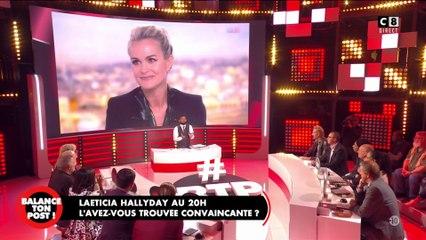 Læticia Hallyday au JT de TF1 a-t-elle été convaincante ? L'avis des chroniqueurs