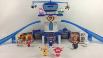 Super Wings World Airport Playset w Jett Donnie Mini Transforming 출동슈퍼윙스  || Keith's Toy Box