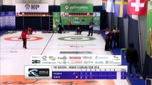 World Curling Tour, PAF Masters 2018, Team Fellmann (SUI) vs Team Rudzite (LAT)